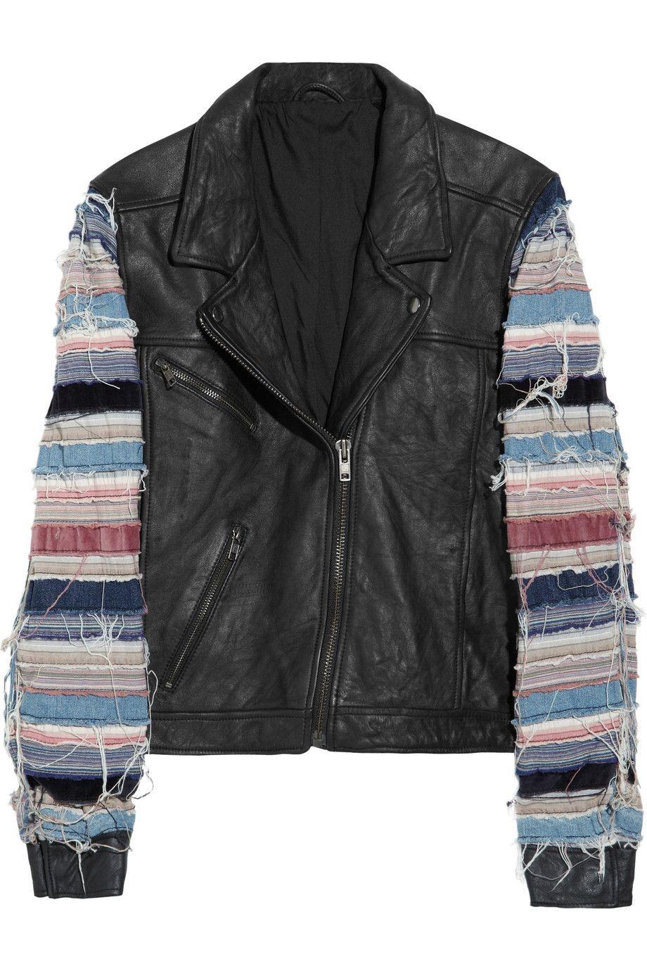 Slice leather jacket by Acne Jackets, Leather jacket