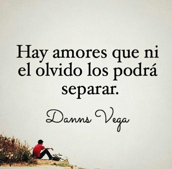 Hay amores que ni el olvido los podrá separar...