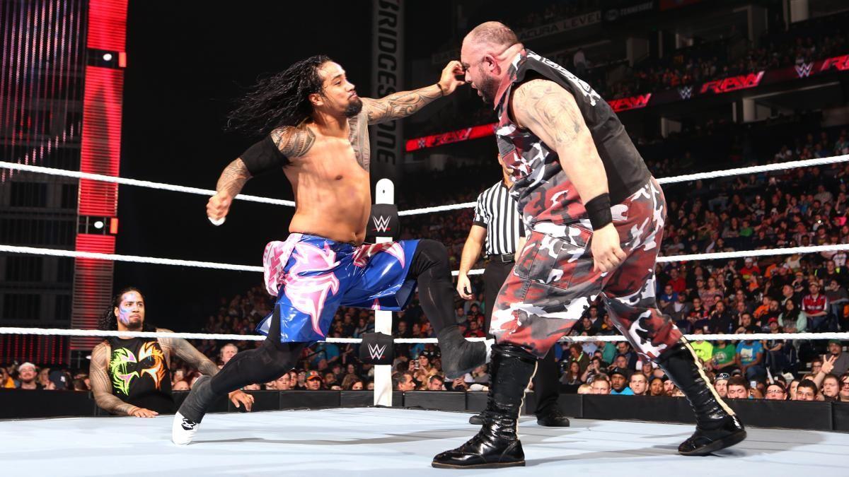 Jey Uso vs. Bubba Ray Dudley: photos