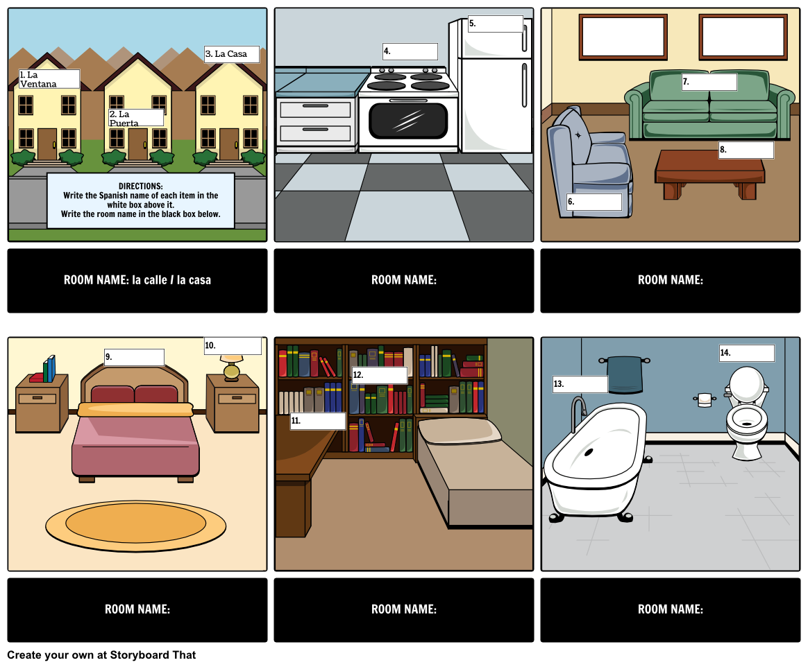 Using Our Storyboard Cells, Students Or Teachers Can Create Visual  Flashcards That Have A Picture