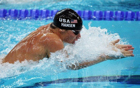 brendan hansen is an american swimmer primarily competing in breaststroke competitions he won four olympic medals and 19 more from pan pac