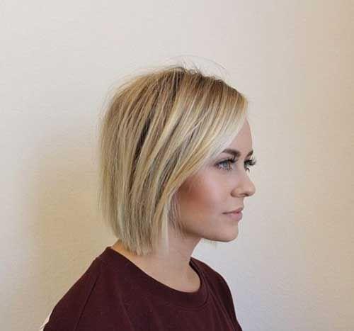 Good-Looking Short Straight Hairstyles | Frisuren, Bob ...
