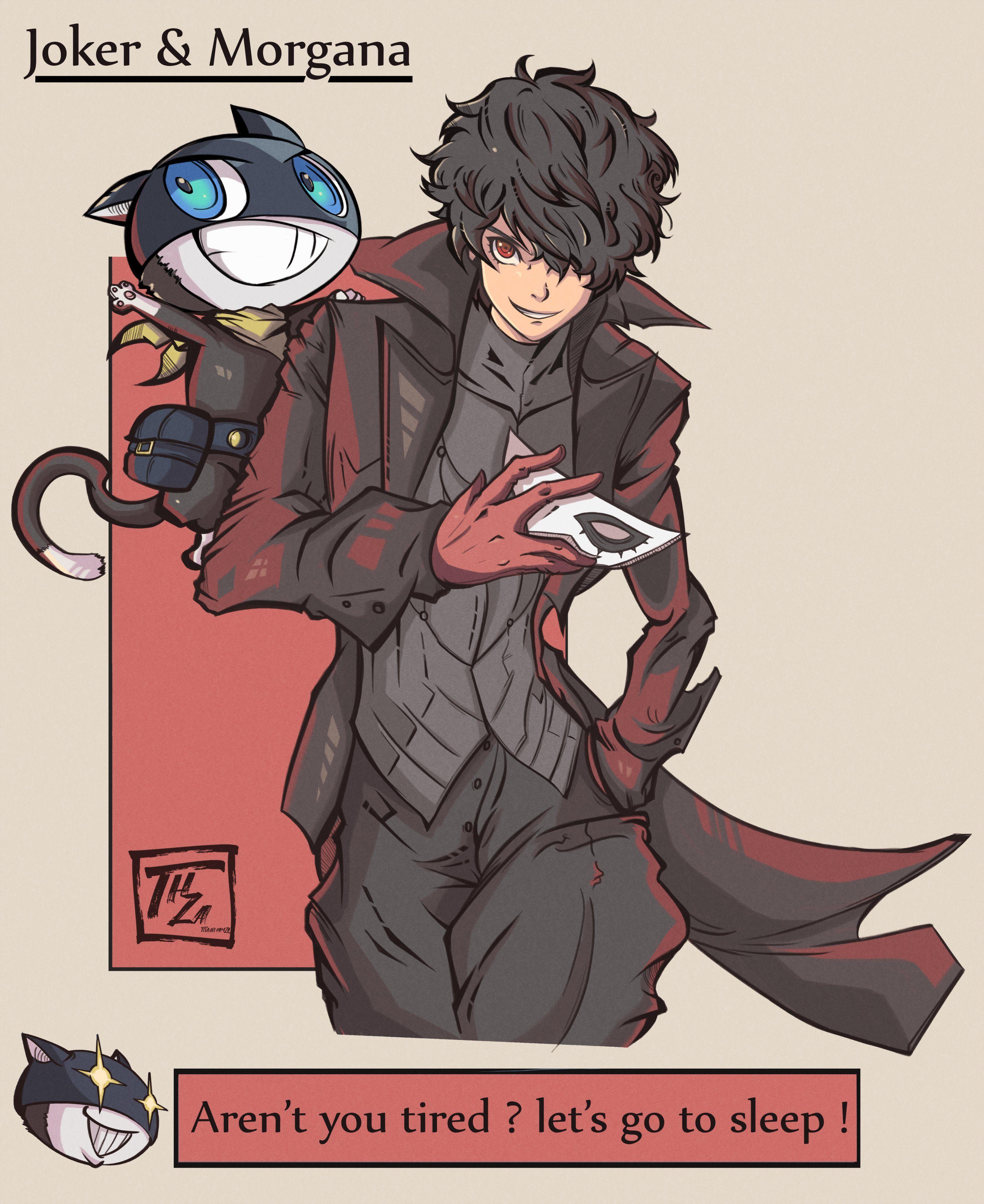Touijri Hamza on Character art, Persona 5 anime, Persona 5
