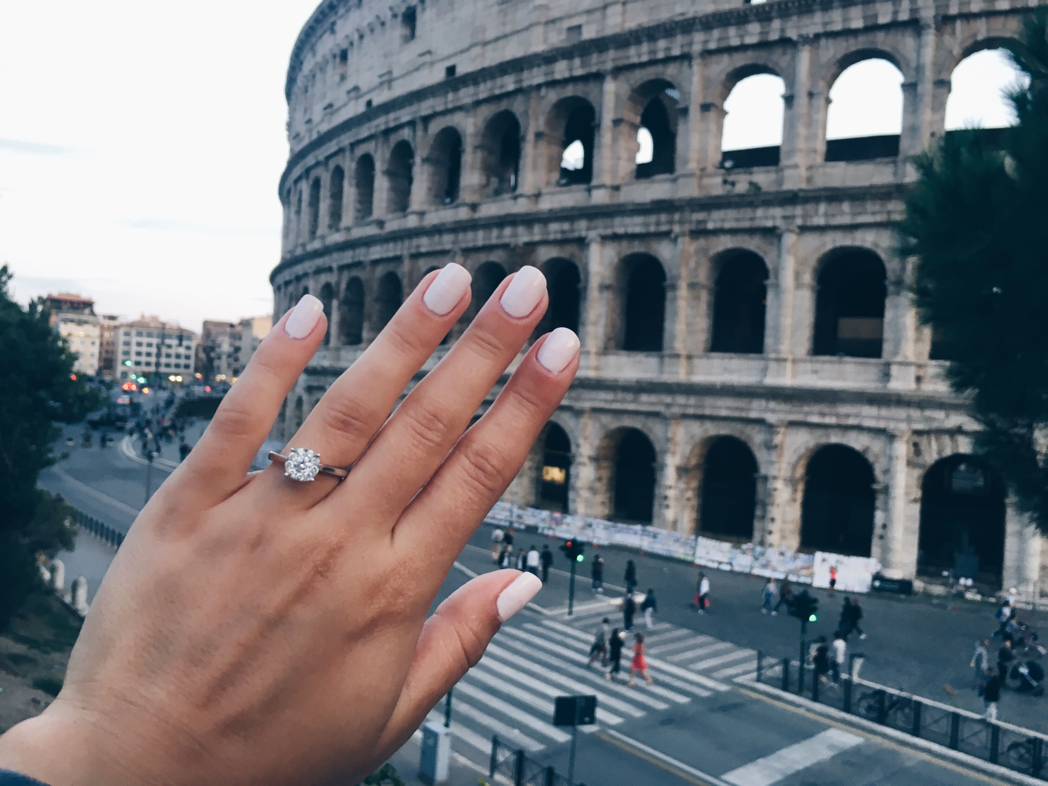 Engagement in Rome❤️
