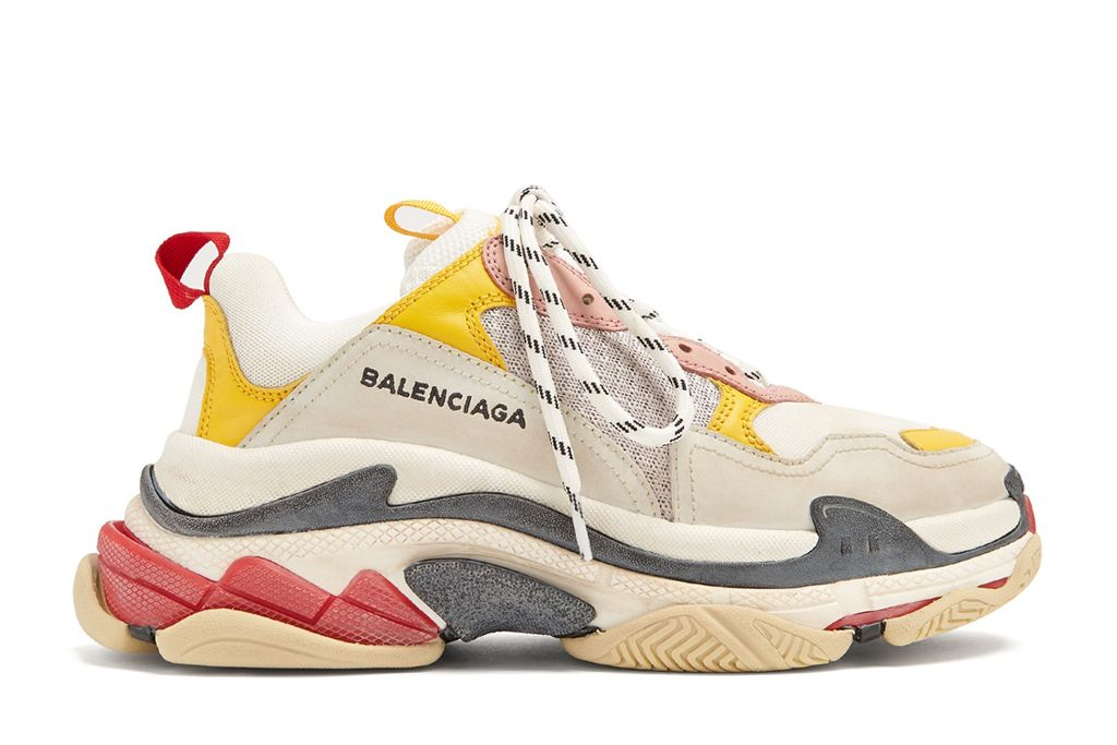 c171ae1478 Balenciaga Updates the Trendy Triple S Sneaker for Spring '18 With ...