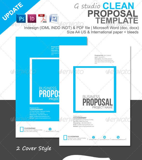 Free PSD Front Open Business Folder Mockup Template http\/\/www - best proposal templates