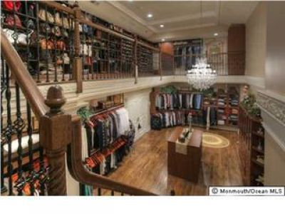 Two Story Closet.I Would Be Like A Kid In A Candy Store!