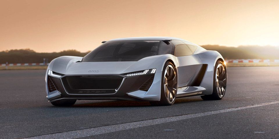 Audi Unveils Pb18 E Tron Electric Concept Car Electric Sports
