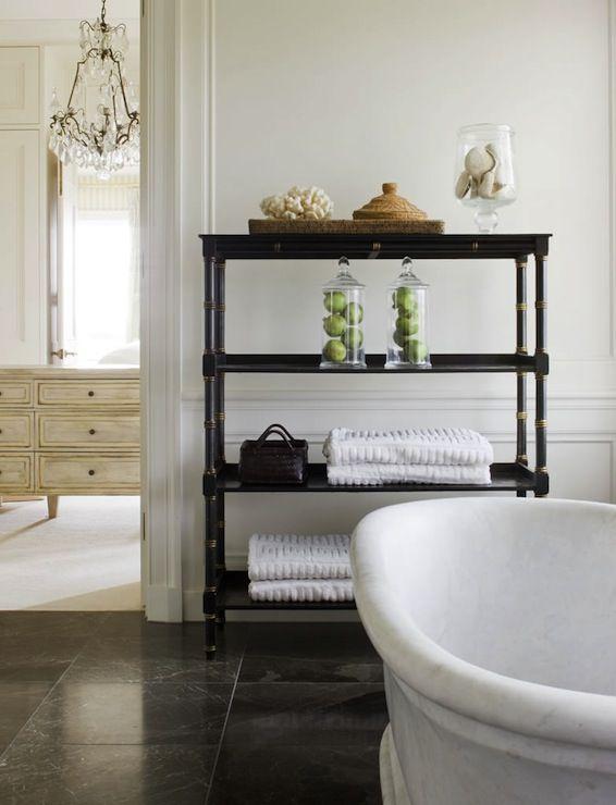 Bamboo Etagere, French, bathroom, Thomas Hamel | Bathroom ...