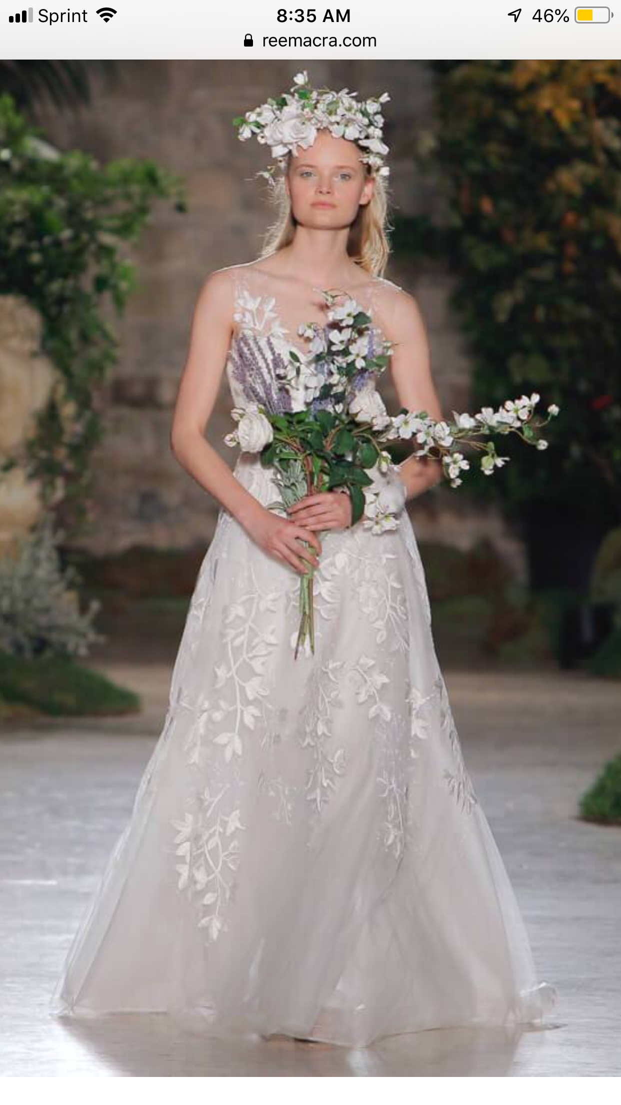 Monique Lhuillier from Best Looks From Bridal Week Summer