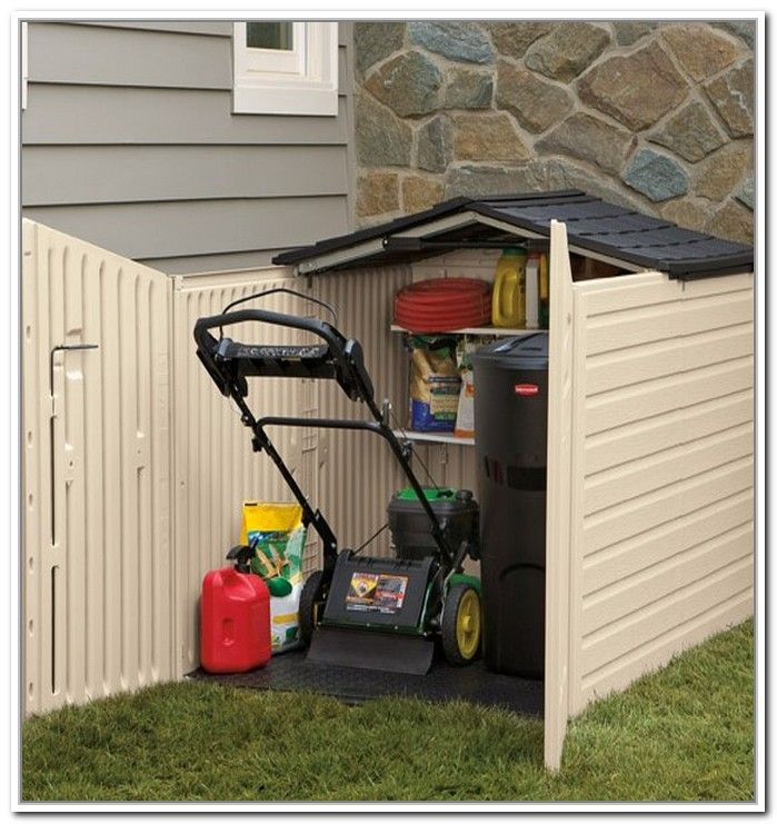 Gentil Push Mower Storage | Find A Way To Build Your Own With Woodworking Plans