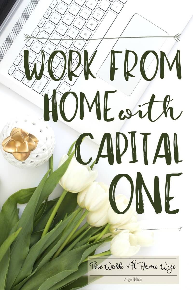 Capital One Work From Home For A Highly Respected Company Work
