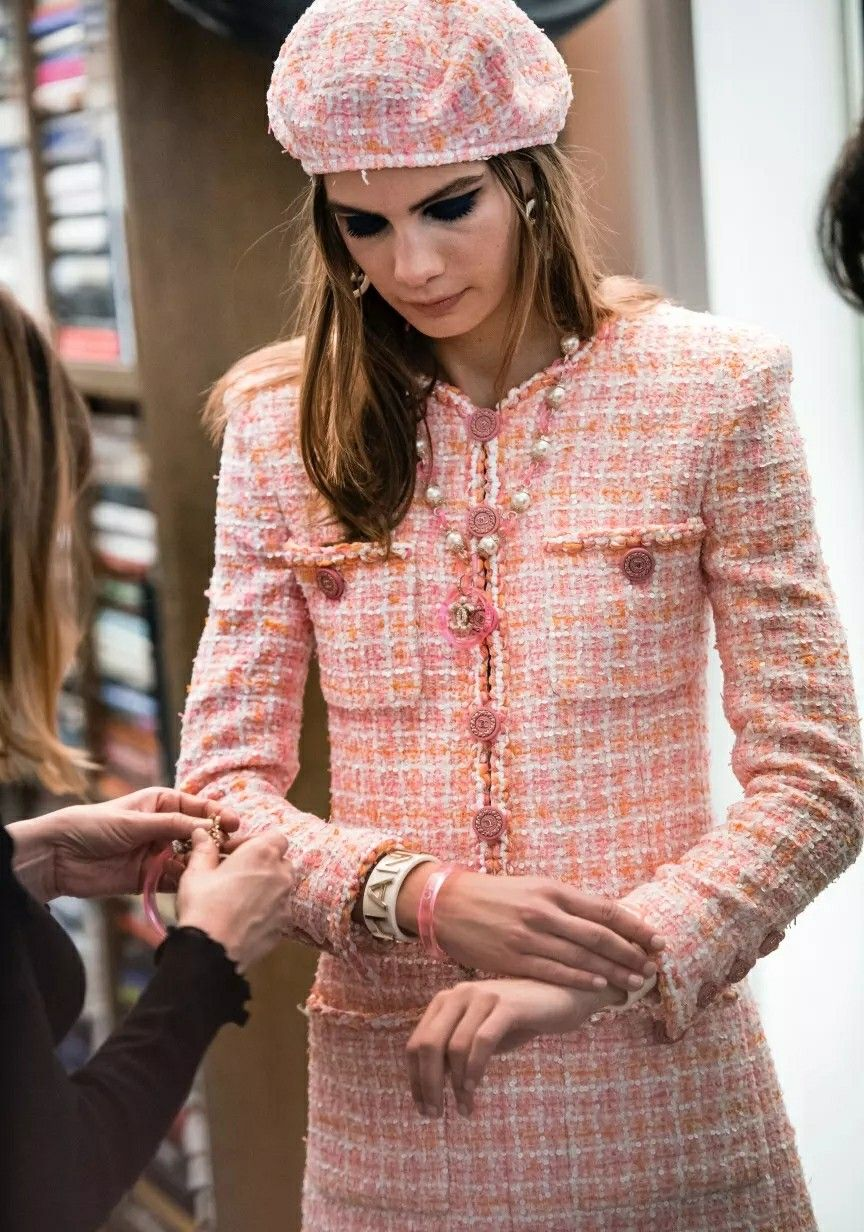 Chanel Cruise 18/19\' | Vestidos calle | Pinterest | Chanel ...