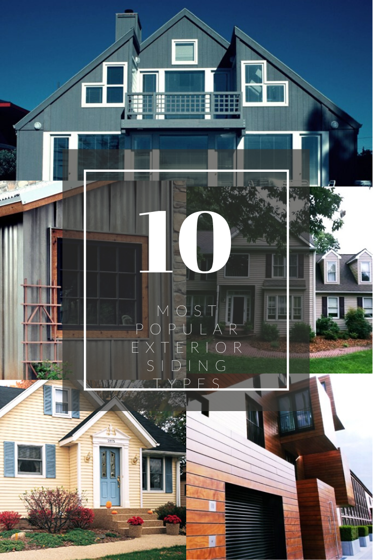 Most Popular Types Of Siding Farmhouse Exterior Types Of Siding Exterior Design