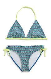 Tucker + Tate Two Piece Swimsuit (Big Girls)