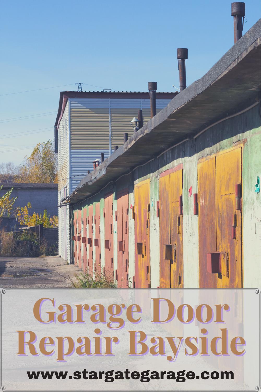 Garage Door Repair Bayside Garage Door Installation Garage Doors Door Repair