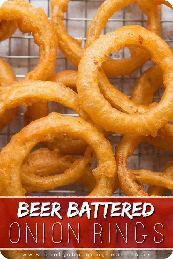 Die Herstellung Ihrer eigenen Zwiebelringe mit Bierbatterie könnte wirklich nic... - Laut Lis... #cookingtips