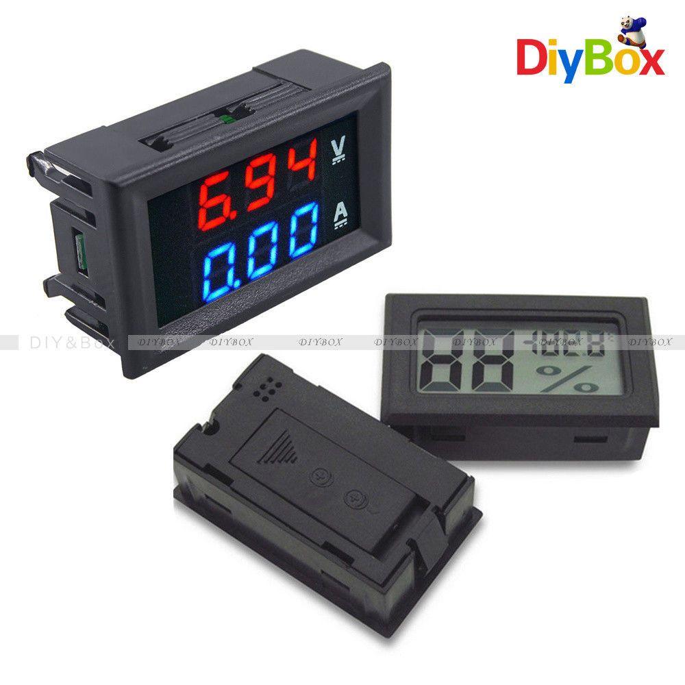 Digital LED Anzeige Voltmeter Multimeter Spannungsmesser 60~500V//0~100A