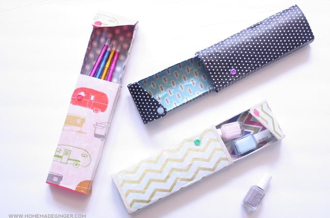 20 Diy Pencil Case Ideas Short Tutorial To Get More Excited To