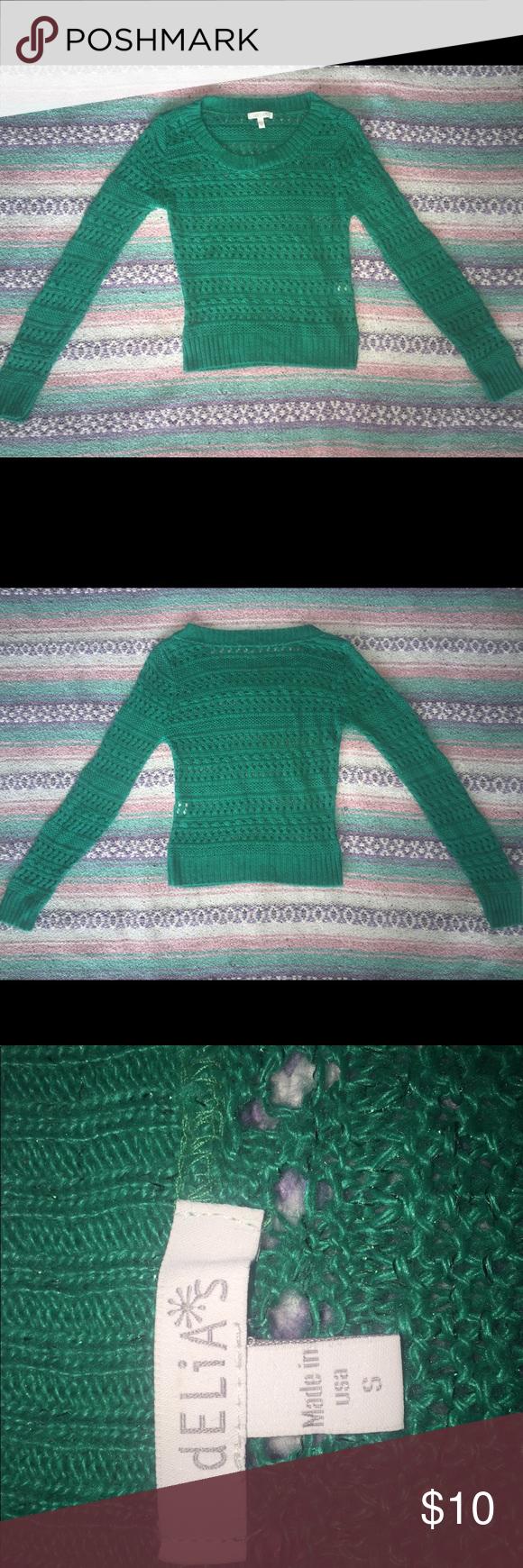 Sea foam Green Sweater Women's Small | Green sweater women