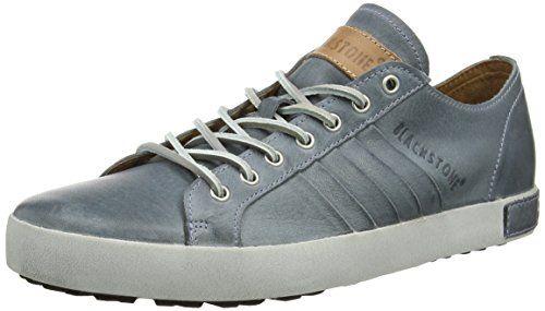 LM81, Herren Sneakers, Blau (Navy), 44 EUBlackstone