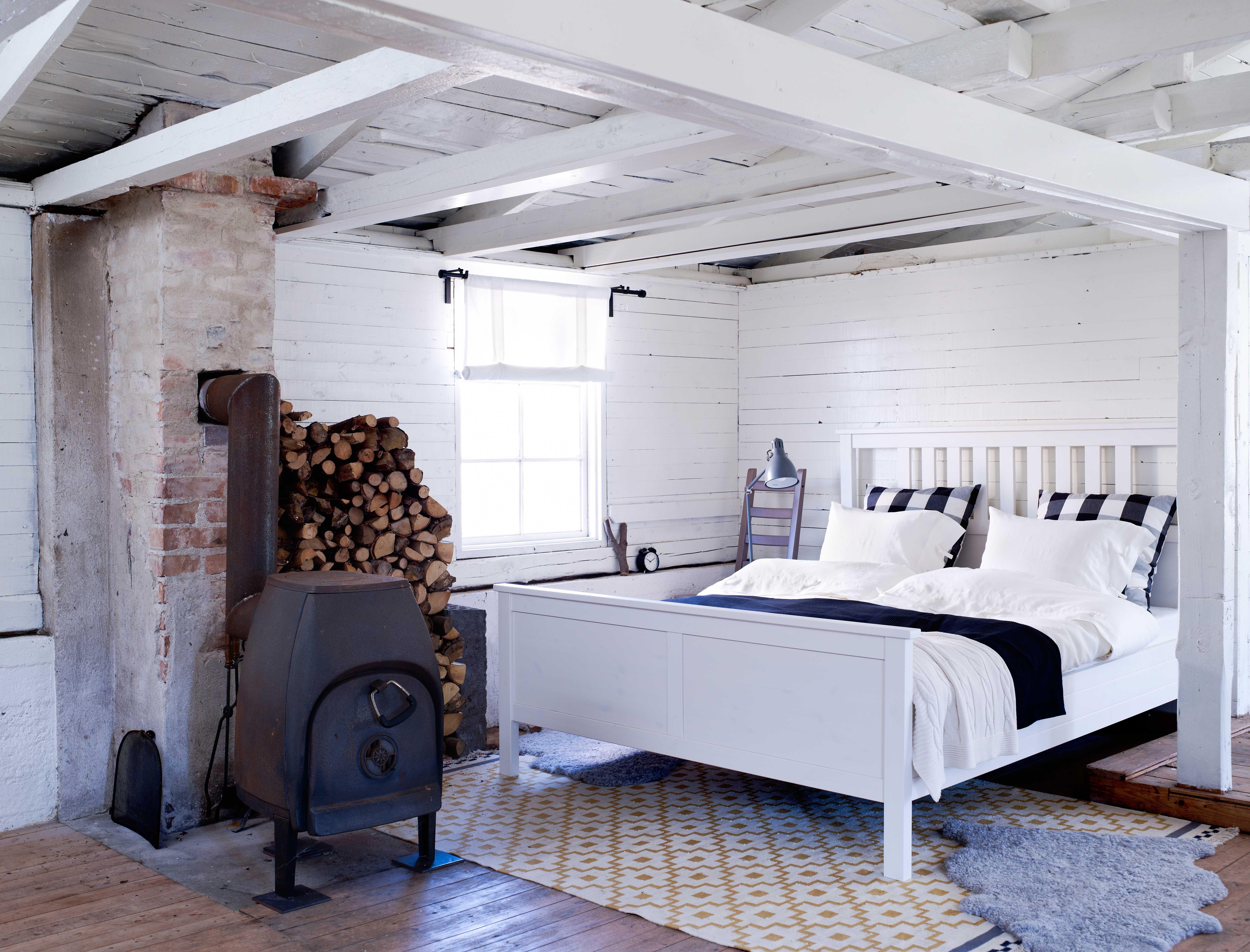 Schlafzimmer Teppich ~ Ikea Österreich inspiration schlafzimmer weiß bettgestell
