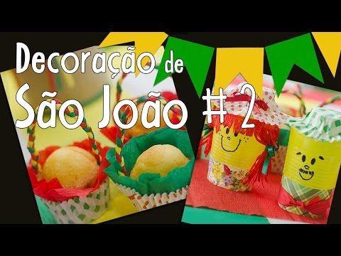 Decoração de São João #1 - YouTube