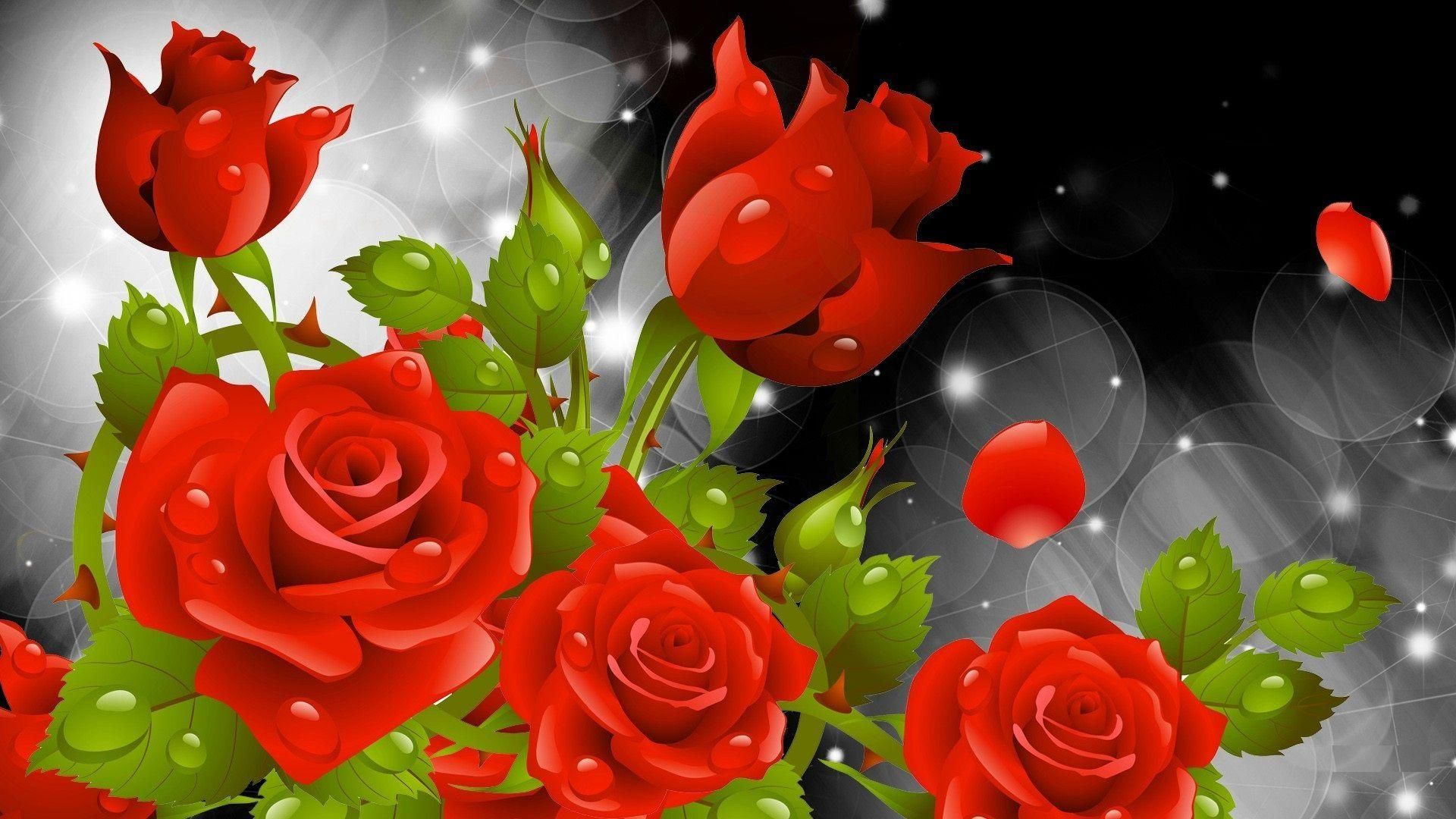 Beautiful Good Morning Images And Pictures Full Hd In 2020 Flower Wallpaper Rose Flower Wallpaper Red Flower Wallpaper