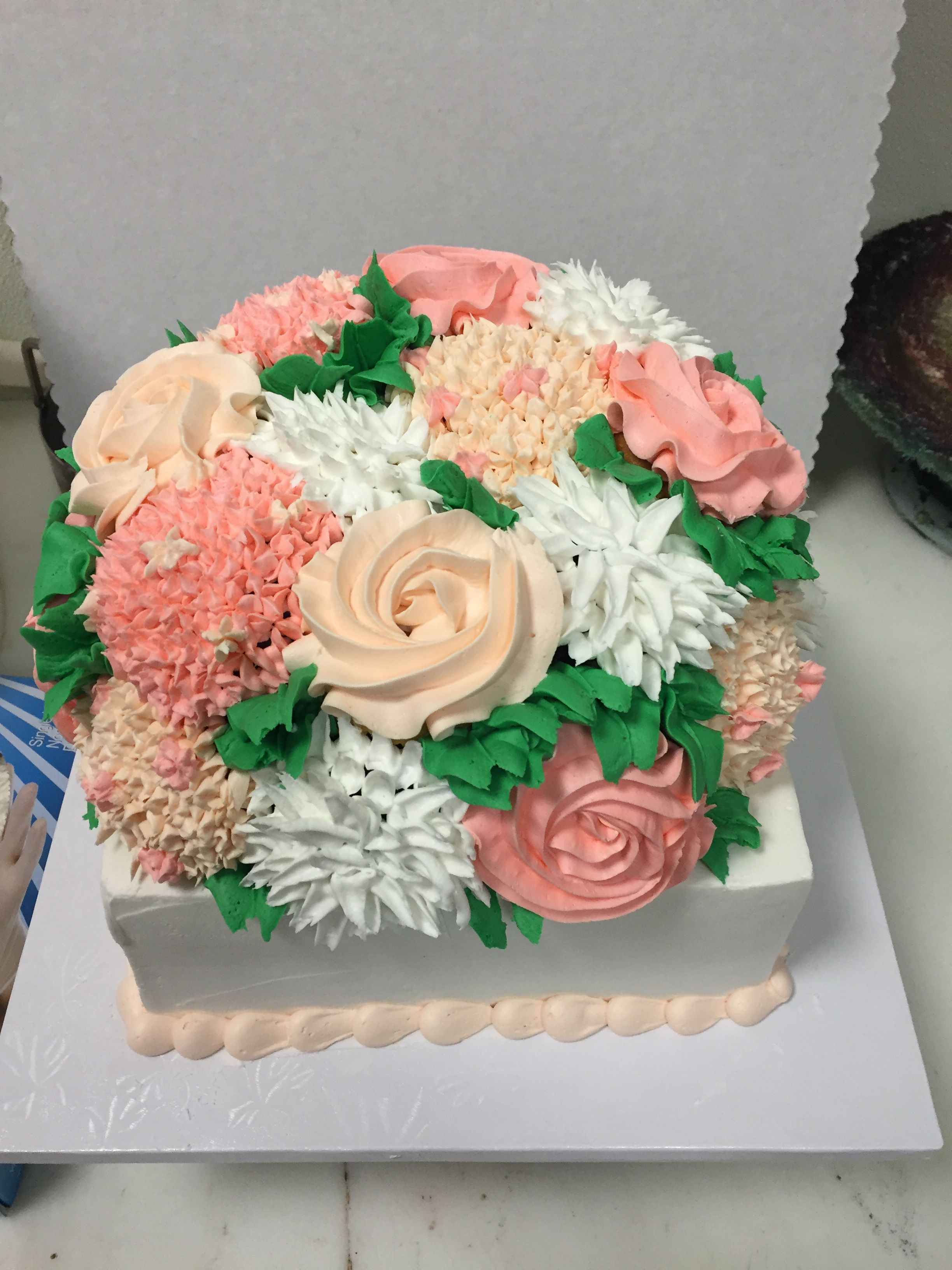 Flower Bouquet Cake My Cakes Pinterest Flower Bouquets And Cake