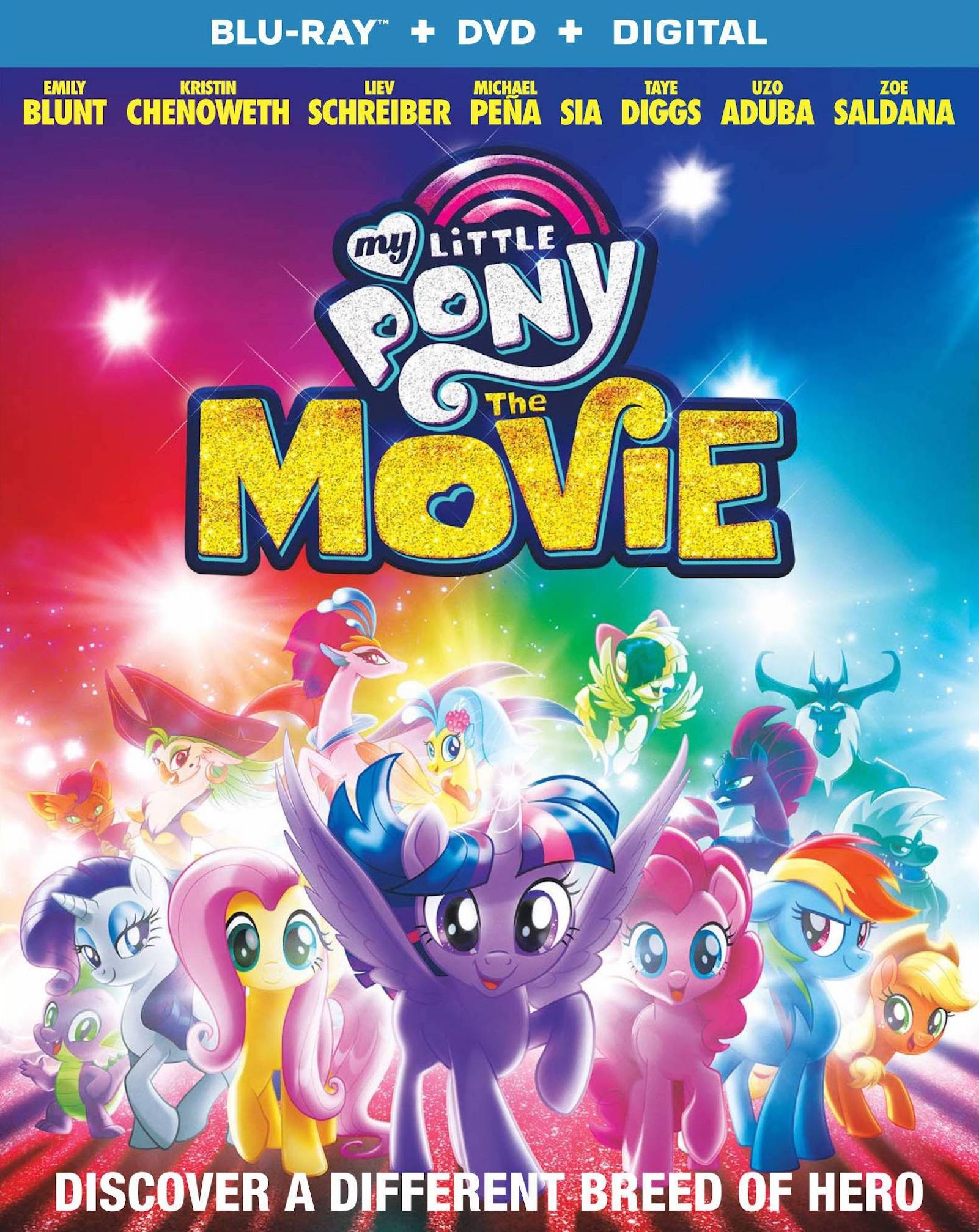 Buy 4 Get 10 Free 2017 Panini My Little Pony The Movie Single Stickers