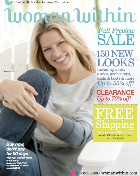 fbf8aef4 Free, Plus-Size Clothing Catalogs You Can Get in the Mail in 2019 ...