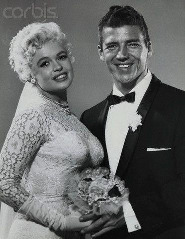 Jayne Mansfield Mickey Hargitay Wedding Images & Pictures - Becuo |  Celebrity weddings, Beautiful beach wedding, Jayne mansfield