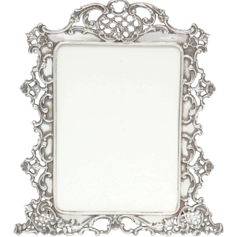 Providence Picture Frame Metal Picture Frame Silver Color With The