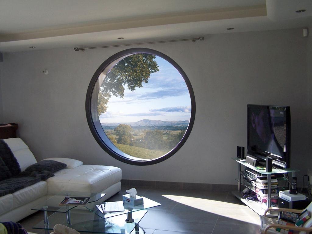 Oeil de boeuf aluminium chambre combles pinterest for Fenetre oeil de boeuf