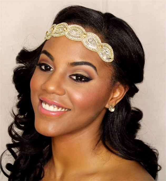 Natural Wedding Makeup For American : African American Wedding Makeup Looks - Makeup Vidalondon