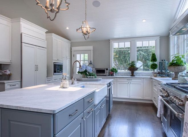 Sherwin Williams Classic French Gray Grey Island Paint Color