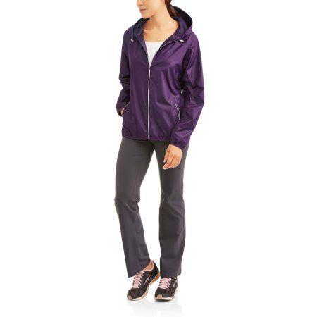 b3c53bc2ac6 Danskin Now Women s Active Woven Windbreaker - Walmart.com. WindbreakerAnorak  Jacket
