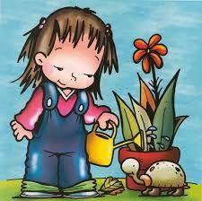 Resultado De Imagen Para Dibujos Alusivos A Como Nacen Las Plantas Rutina Diaria De Ninos Actividades De Jardin De Infantes Temas Escolares