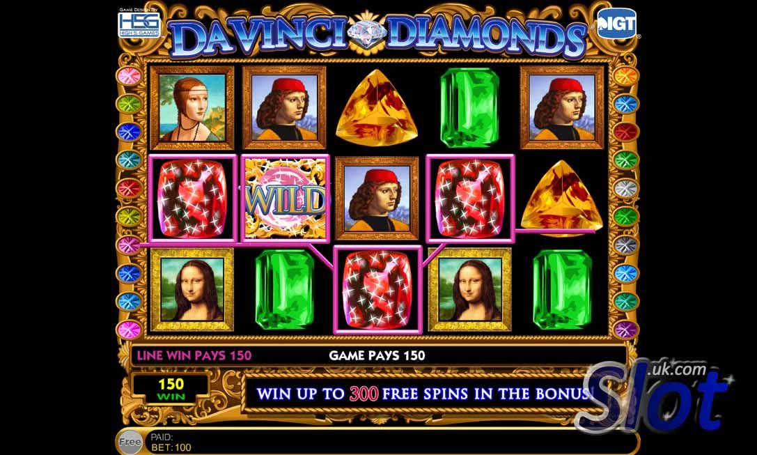 Play free davinci diamonds slots best mobile gambling games