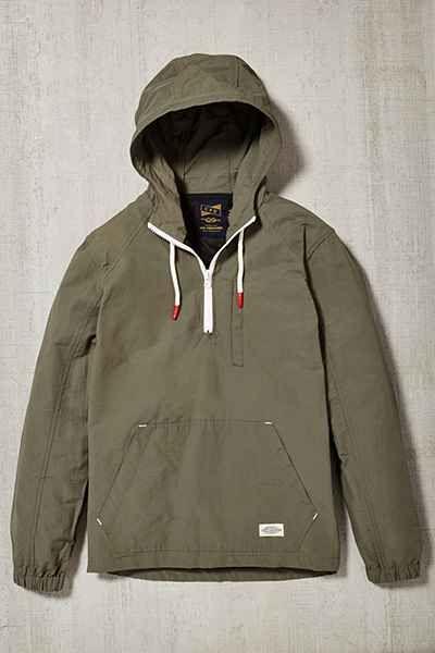 c043689fd CPO Nylon Side Zip Anorak Jacket | Winter mama | Jackets, Anorak ...