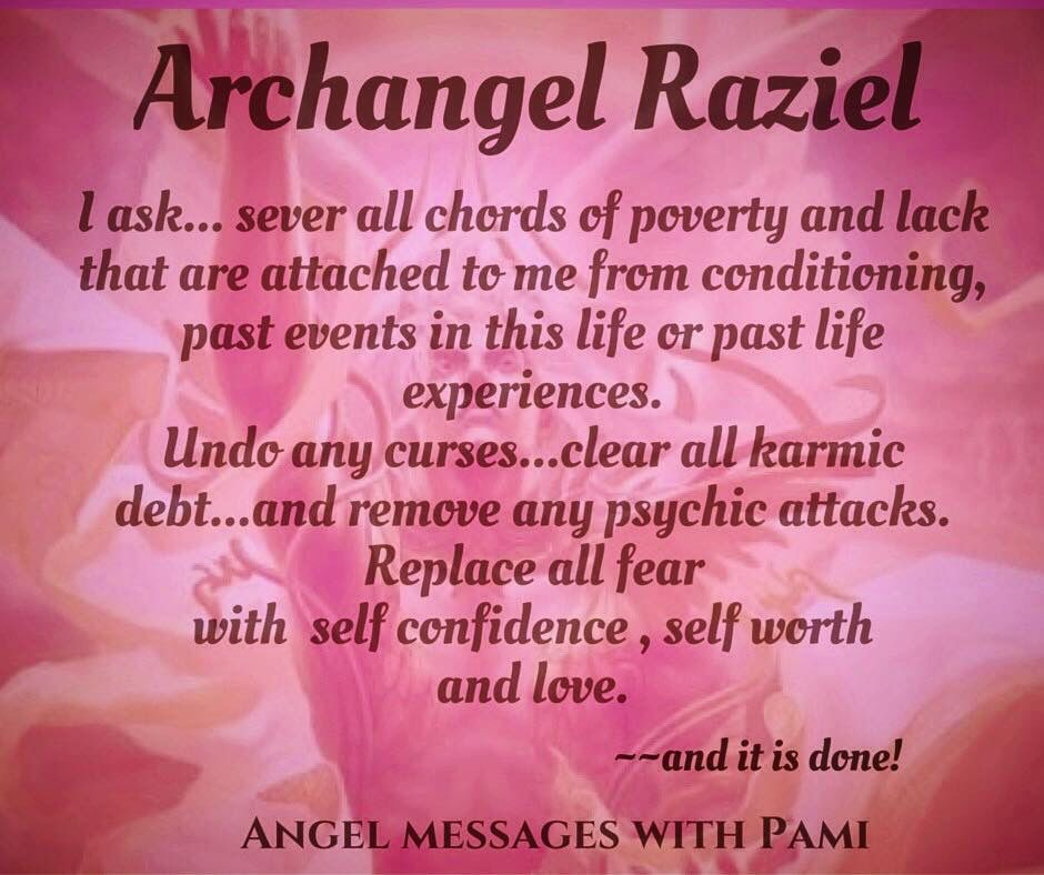 Archangel Raziel Angels Pinterest Angel Prayers Archangel
