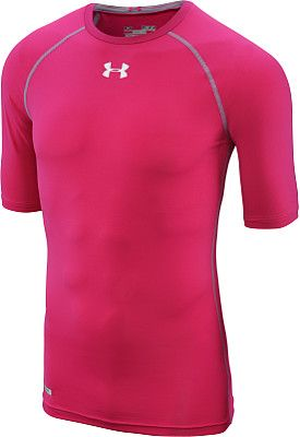 UNDER ARMOUR Men s HeatGear Sonic Compression Half-Sleeve Shirt ... 27fd5e7afda3
