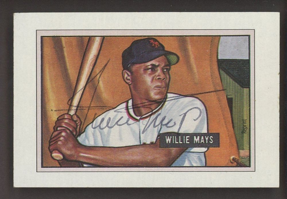 1989 Bowman Sweepstakes 1951 Rc Retro Willie Mays Giants Hof