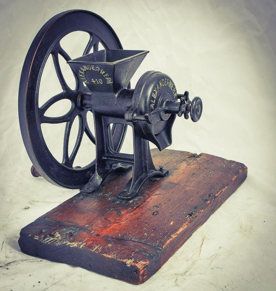 Antique ALEXANDERWERK 410 Coffee Grinder Wheat Mill Grain