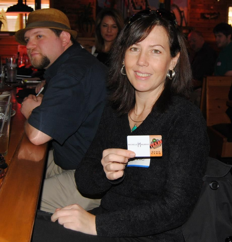 Gift Card Branding at Texas Roadhouse with the Lehigh Valley Elite Network!