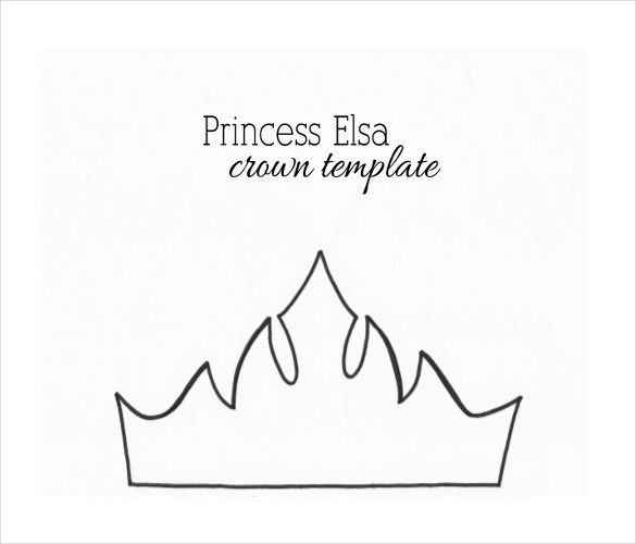 crown template simple crown template free printable papercraft