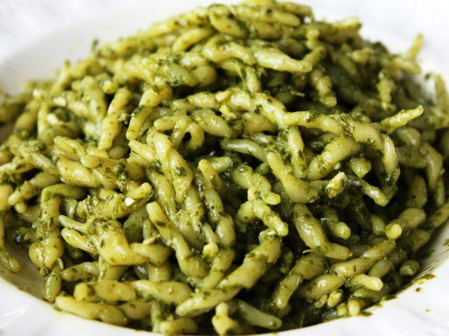 Sunday Pasta®: Trofie al Pesto Genovese (Basil Pesto Sauce) - The Garrubbo Guide