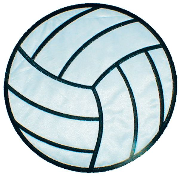 Volleyball Applique Embroidery Design Applique Embroidery Designs Embroidery Designs Applique