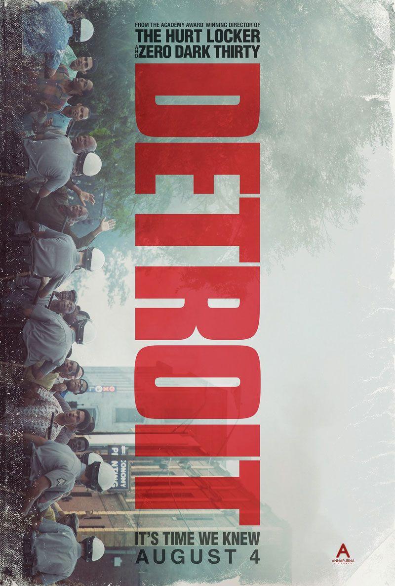 Detroit by Kathryn Bigelow.  Poster.