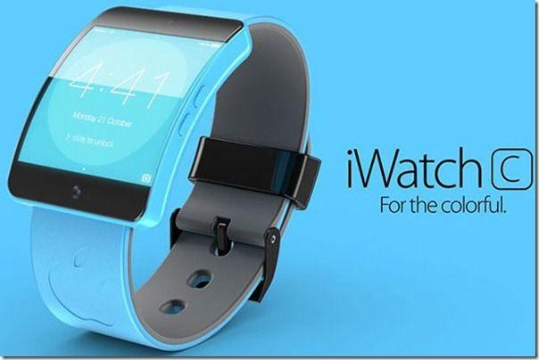 Tecnologia Future Concept como Horas Inteligentes Simples e elegante da Maçã iWatch C